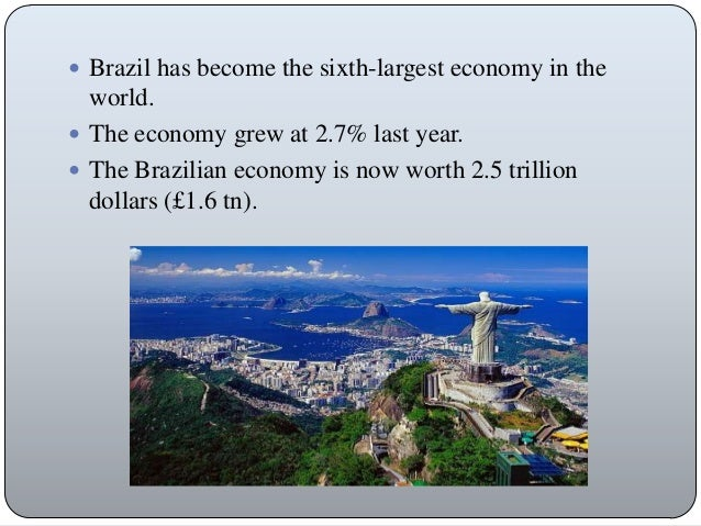 economic analysis of brazil Brazil's beef production and its efficiency: a comparative study of scale economies by  on global economic analysis trade, poverty, and the environment.