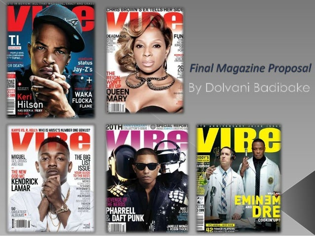 "  My music magazine is going to be targeting different genres such as Hip-Hop, Rap and RnB. The magazine will be called ""..."