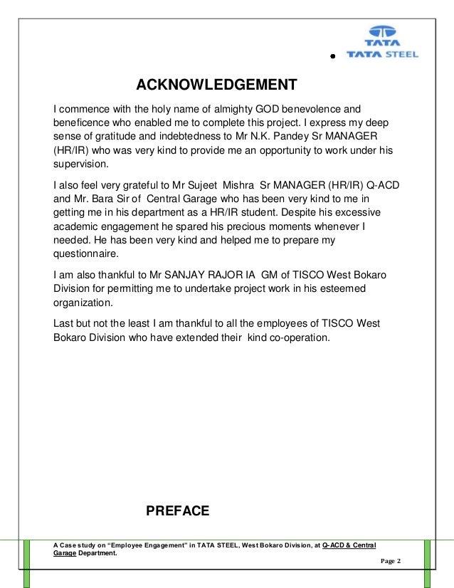 project report employee engagement (by ) mahadev rana