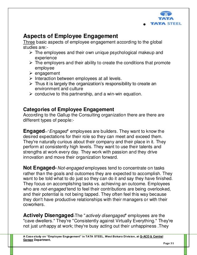 employment engagement policy essay The growing importance of managers in is being described as employee engagement a longer essay written by gail s thornton that.