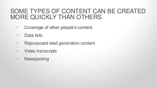 STRIVE FOR CONTENT CREATION WITH A PURPOSE. 4