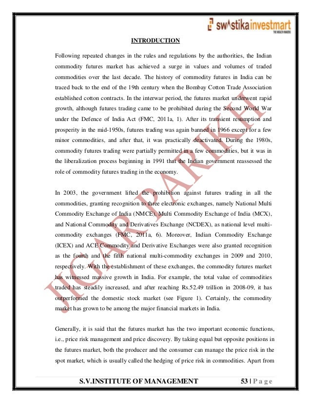 S.V.INSTITUTE OF MANAGEMENT 53   P a g e INTRODUCTION Following repeated changes in the rules and regulations by the autho...