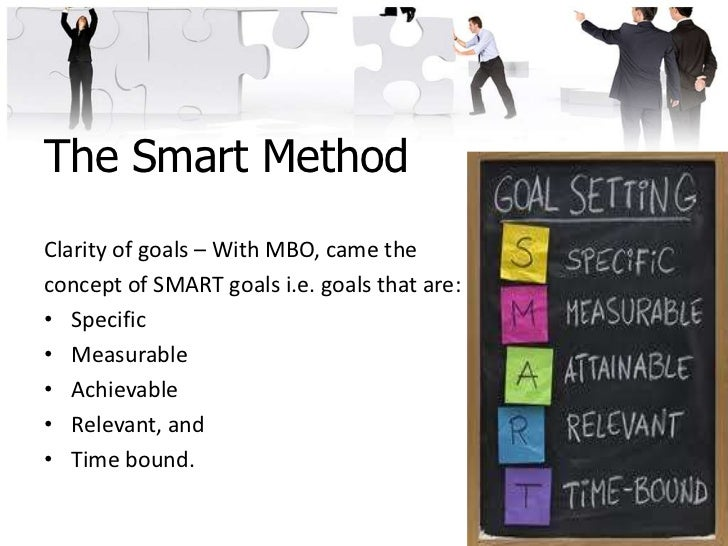 management and smart objectives Be able to formulate your performance and personal development goal in a  smart way have enhanced performance management dialogue between staff .