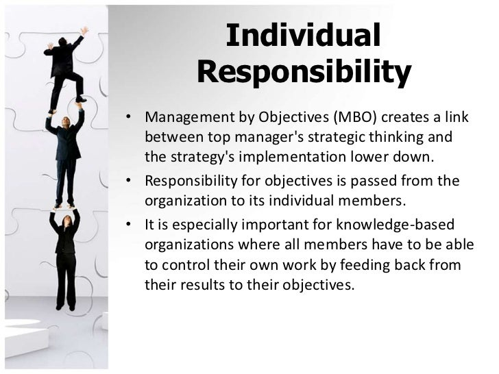 personal responsibility definition