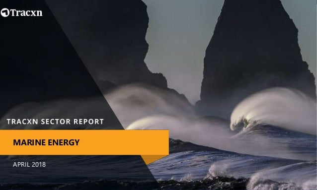 APRIL 2018 MARINE ENERGY