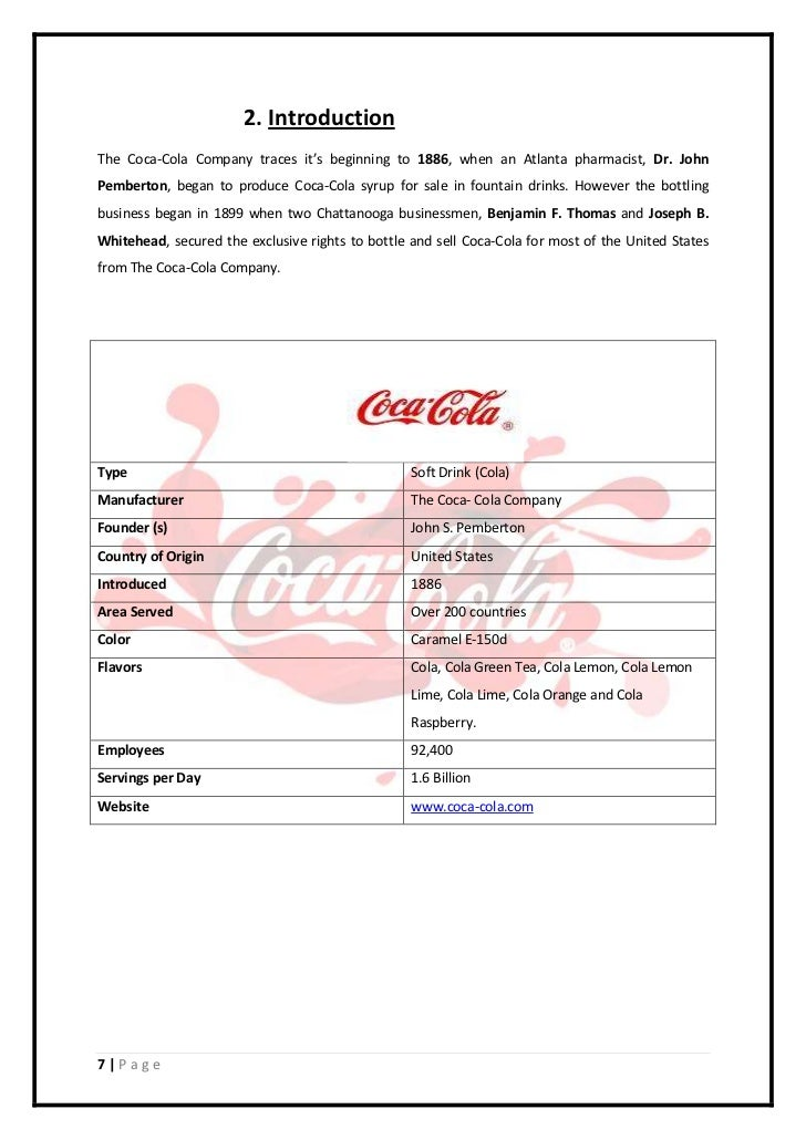 markrting plan coca cola The marketing strategy of coca cola discusses the strategies implemented over time by one of the massive and most popular fmcg brands in the world marketing analysis of coca cola shows that.