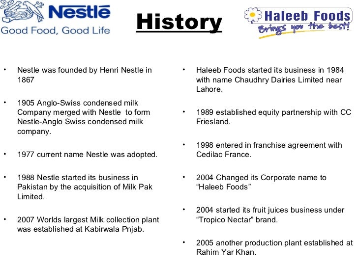 haleeb milk research project report