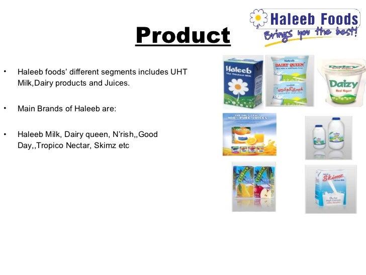 Failure of haleeb juices