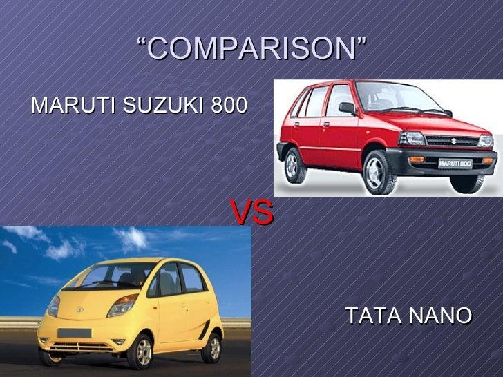 Market plan for Tata Nano