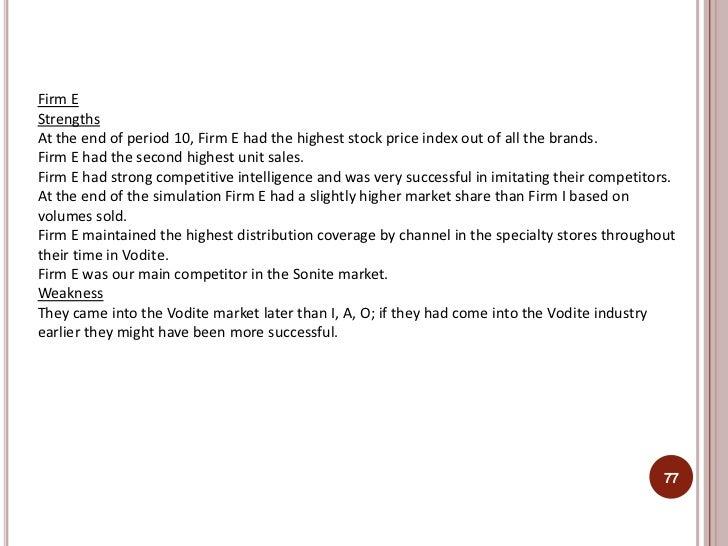 marketing strategy summary of markstrat Marketing strategy (ewmba299m-11 - fall 2012) zsolt katona f694 tel: marketing, strategy a major part of the course is the markstrat simulation.
