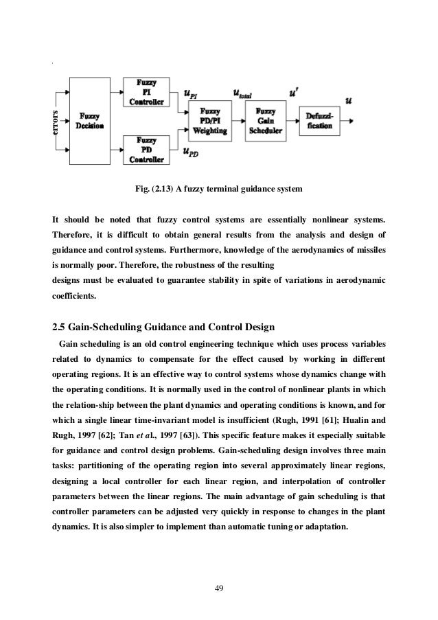 control fuzzy process thesis