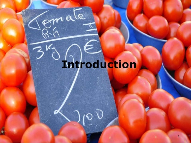 What is a thesis in tomato