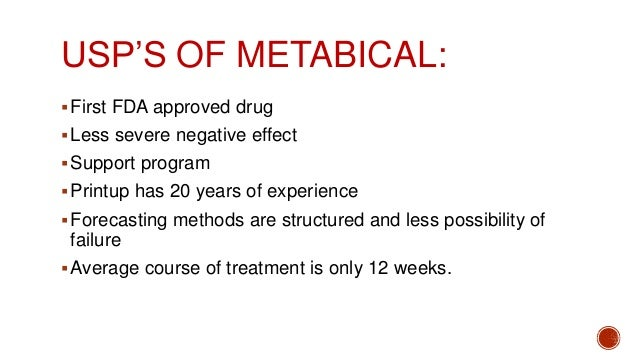 metabical analysis Metabical is claimed to be a safe and effective weight loss drug the case study  describe the analysis of marketing strategy used to introduce.