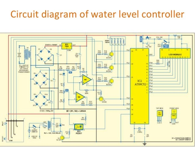 Microcontroller based water level monitoring