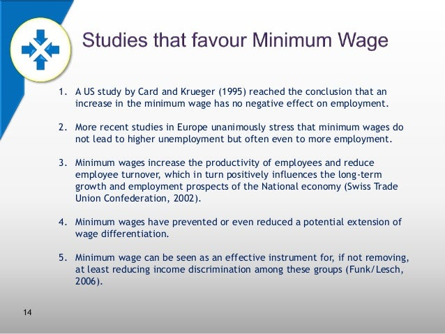 an argument against the raising of minimum wage due to its negative impacts
