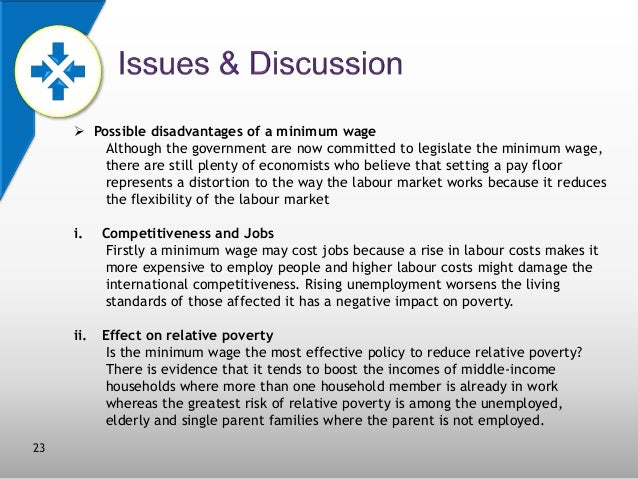 22; 23.  Possible Disadvantages Of A Minimum Wage ...
