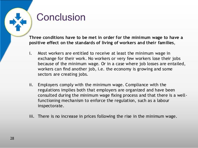 minimum wage conclusion Conclusion what have we learned from this extensive and (to us) exhausting  review of the minimum wage literature it is only fair to the possibly.