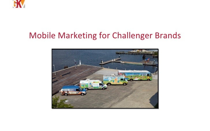 Mobile Marketing for Challenger Brands