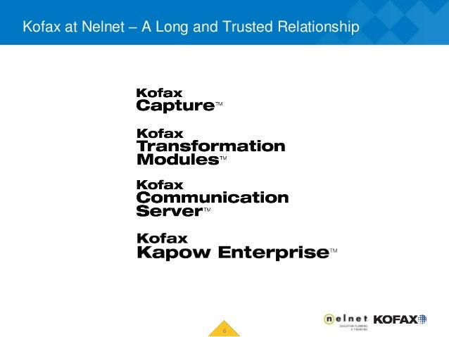 Nelnet Kofax Transform 2015 V3