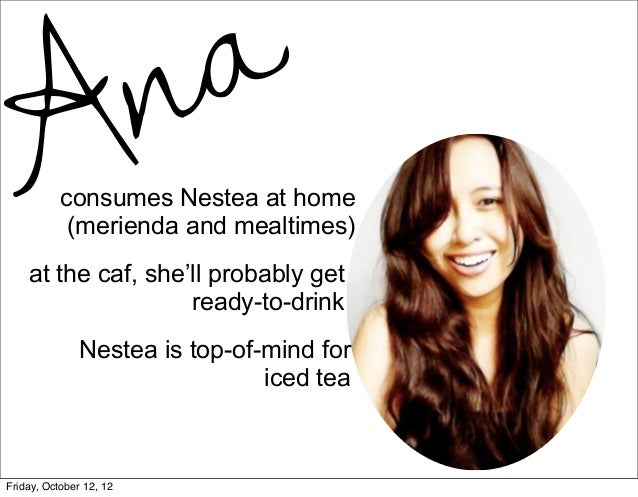 marketing plan of nestea Marketing plan – nescafe dictado, louise lejano, mark albert basa, carol belle magnaye, angelica current marketing situation analysis a industry study nearly a.