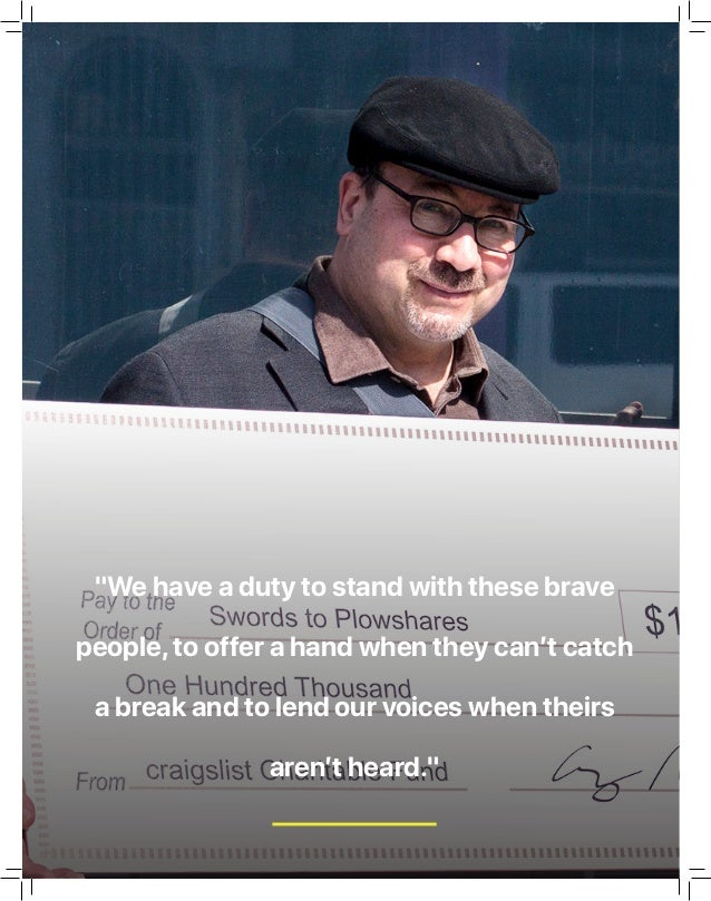 """""""We have a duty to stand with these brave people,to offer a hand when they can't catch a break and to lend our voices when..."""