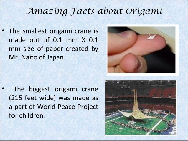 Fun Facts about Origami – Teachers-to-GO! Online Education Platform | 479x638