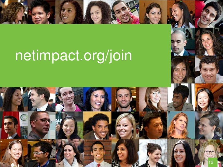 netimpact.org/join                     19