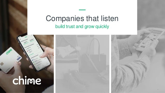 4 Companies that listen build trust and grow quickly