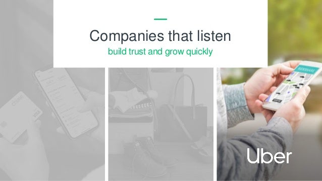 6 Companies that listen build trust and grow quickly