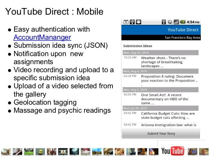 YouTube APIs presentation at Facultad de Ciencias
