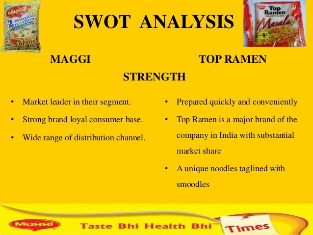 maggi segmentation Marketing mix41 consumer solutionthe instant noodles segment of  maggi is the market to counter the problem, we plan to increase.