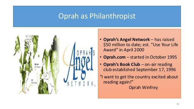 oprah s empire and organizational theory design