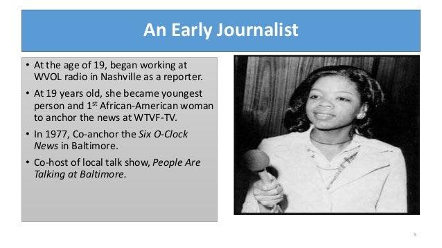 bio of oprah winfrey Oprah winfrey, producer: the oprah winfrey show oprah winfrey was born orpah gail winfrey in kosciusko, mississippi, to vernita lee, a former maid, and vernon winfrey, a coal miner, barber, and city councilman.