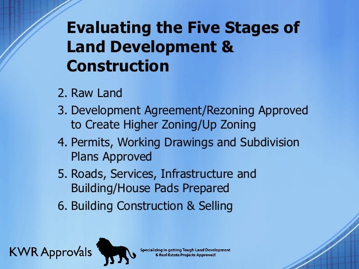 Land Development Steps : Secrets of a successful land development approval process