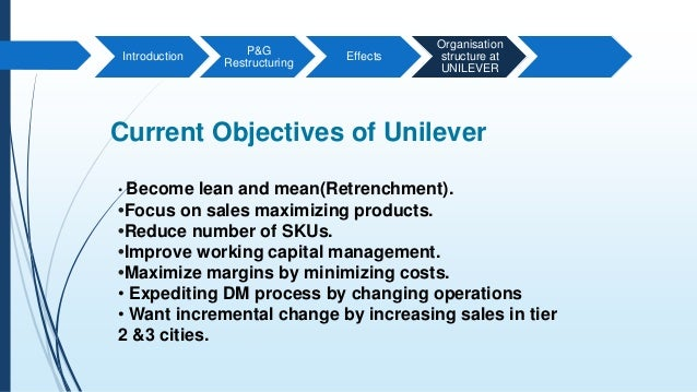 unilever core competencies 2018-6-11  supply chain management review put the question, what does it take to remain a supply chain leader to executives at four of the best performing global supply chains and asked about their plans to remain at the top of their games in the year ahead.