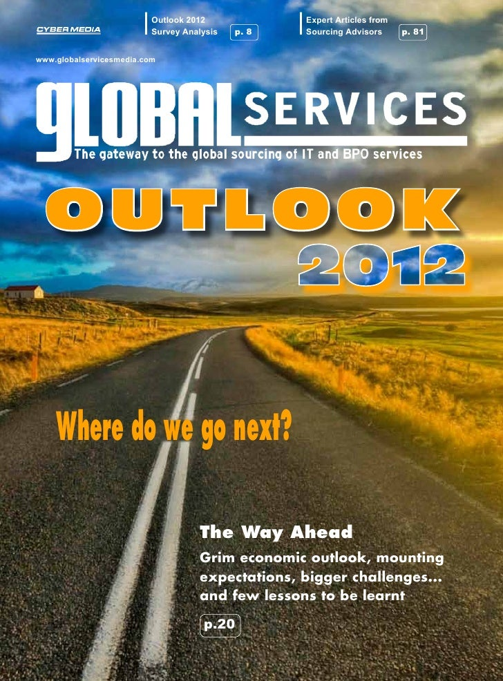 Outlook 2012             Expert Articles from                          Survey Analysis   p. 8   Sourcing Advisors    p. 81...