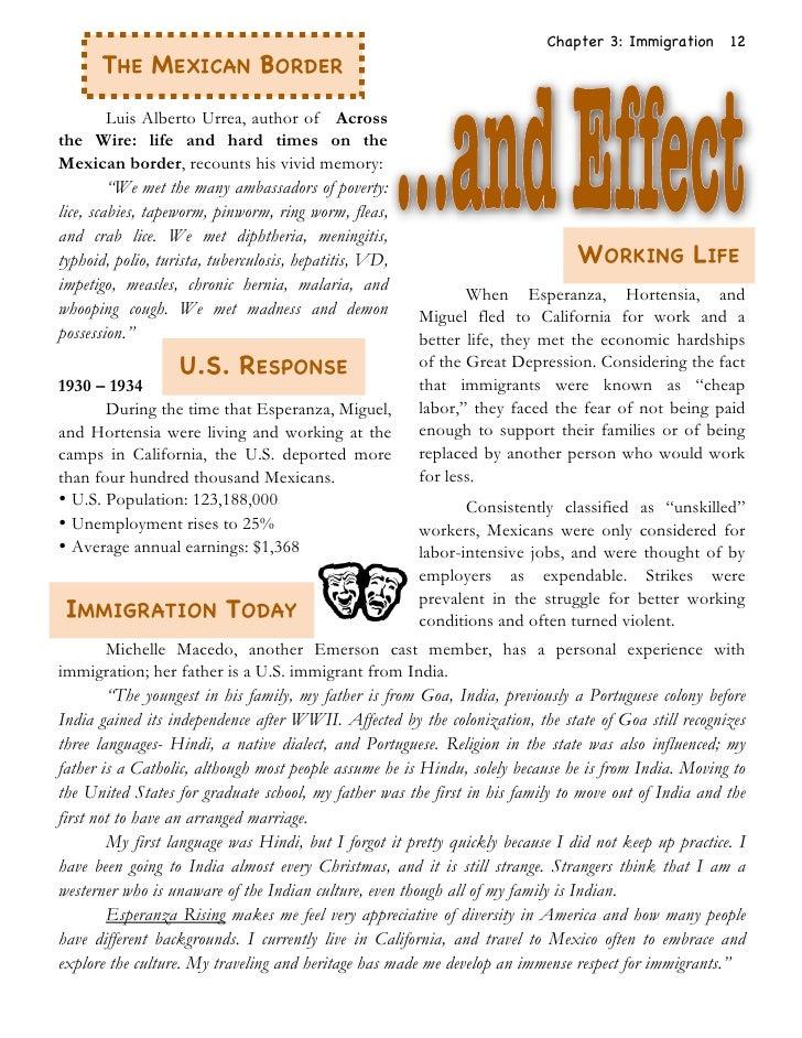 Esperanza Rising – Esperanza Rising Worksheets