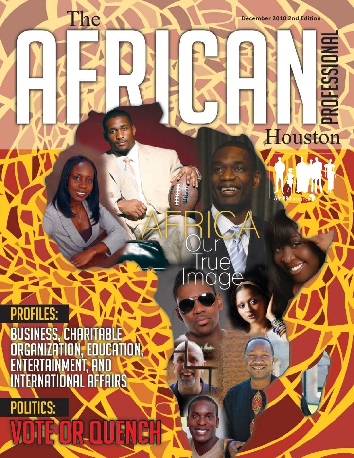 2010 Editor Project: The African Professional Houston 2nd Edition