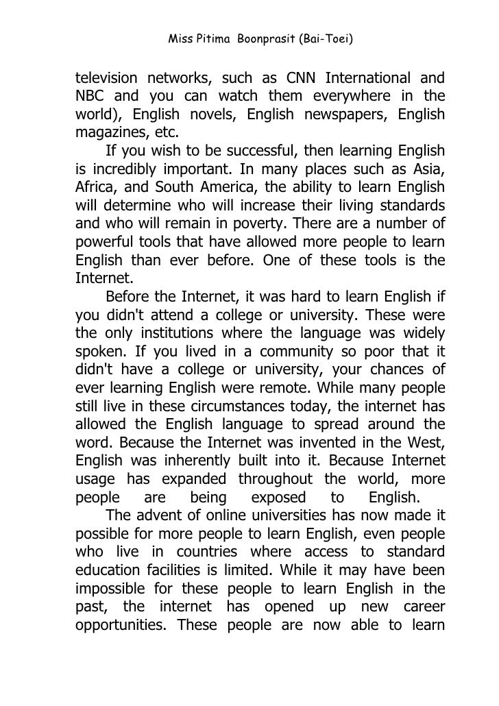 Essay Punctuation  Essay On The Iliad also Sample Of Short Essay Why English Is Important For Thais Essay Chicago Style