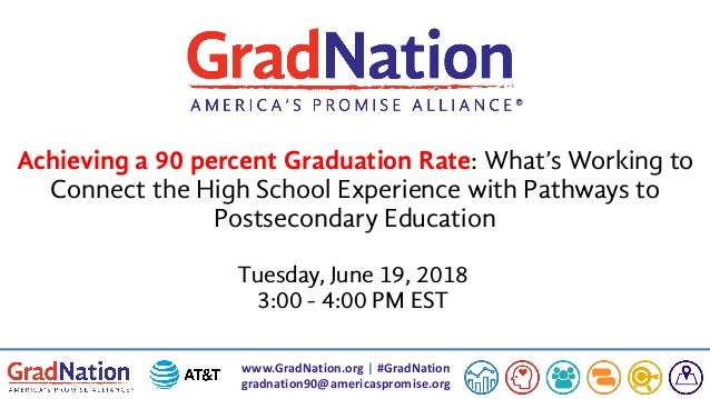 www.GradNation.org | #GradNation gradnation90@americaspromise.org Achieving a 90 percent Graduation Rate: What's Working t...
