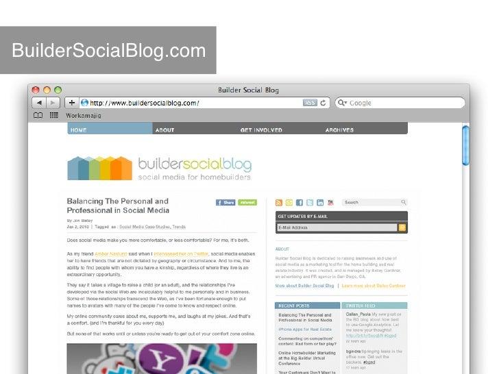 Homebuilders - Transferring Your Brand & Marketing Programs Online