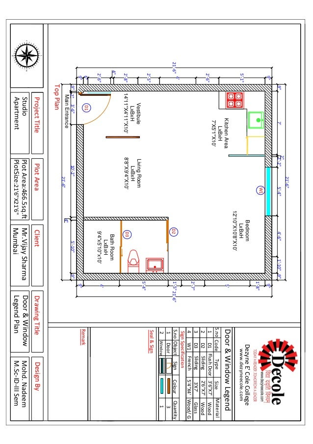 Mohd Nadeem MSc Interior Design Residential Project