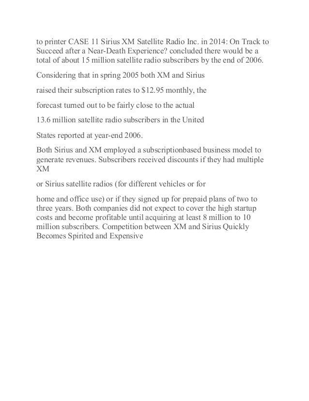 Final pdf to printer case 11 sirius xm satellite radio inc