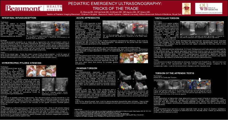 PEDIATRIC EMERGENCY ULTRASONOGRAPHY:                                                                                      ...