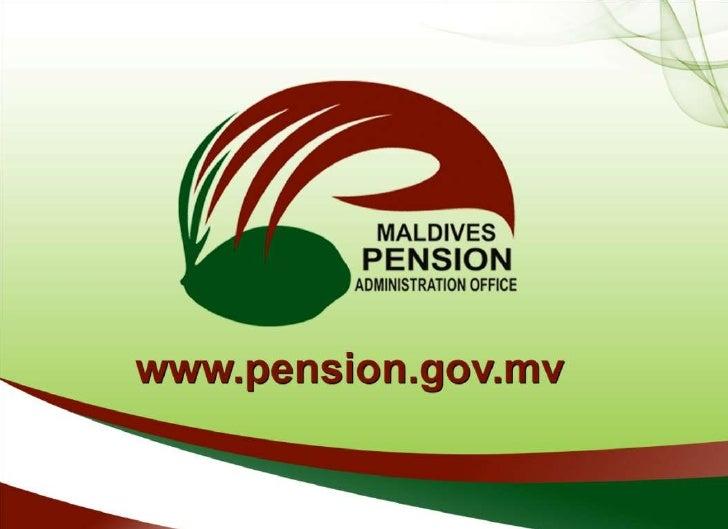 Maldives Retirement Pension