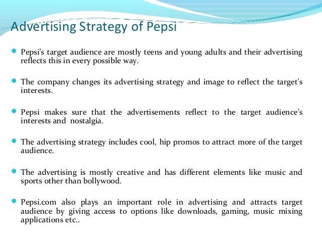Pepsi advertising strategy