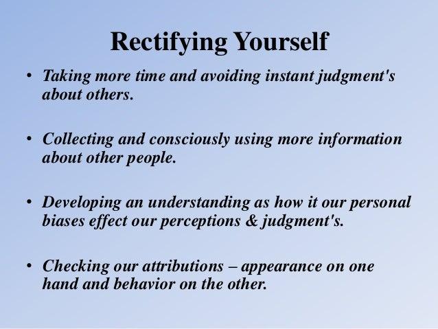 person perception basic principles