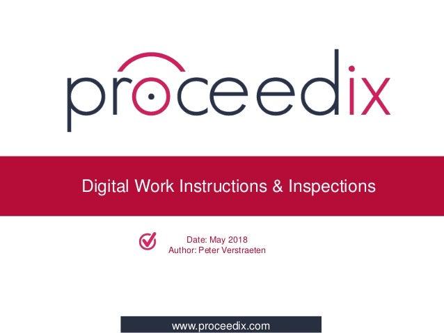 Peter Verstraeten (Proceedix): Digital Work Instructions and