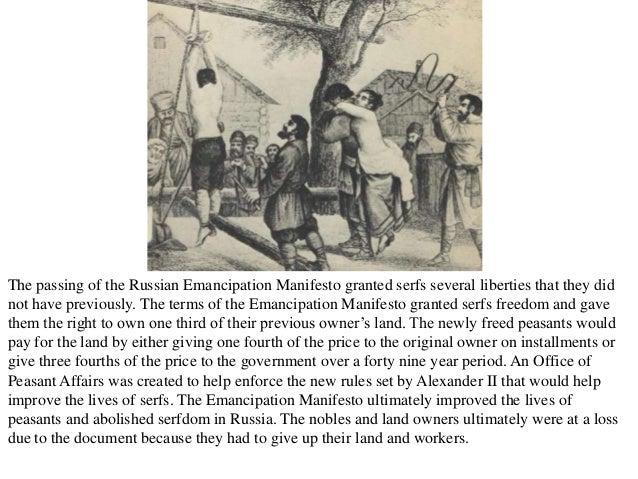 serfdom in russia vs slavery in america