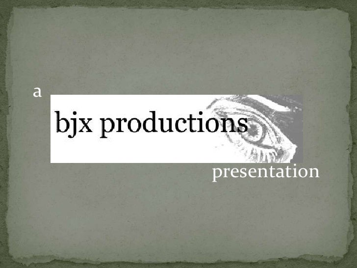 a<br />presentation<br />